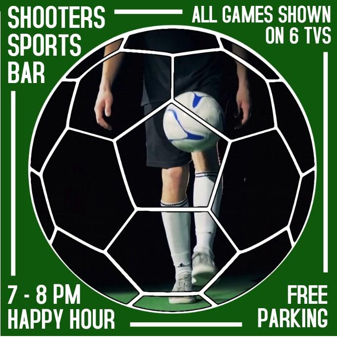 Soccer Footbal Bar Promo Video