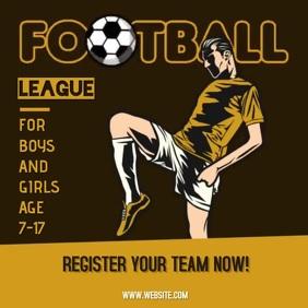 SOCCER FOOTBALL AD ADS ADVERT SOCIAL MEDIA