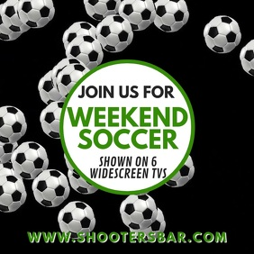 Soccer Football Bar Promo Video
