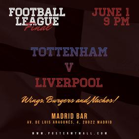 Soccer Football Instagram Square Banner