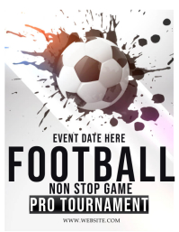 SOCCER FOOTBALL TOURNAMENT FLYER TEMPLATE
