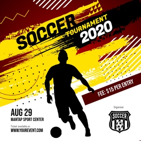 Soccer Futsal Football Tournament social