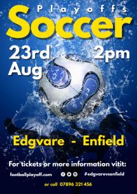 Soccer Game Poster