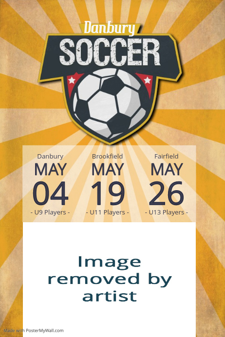 soccer league tournament practice fundraiser sports flyer