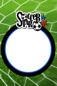 Soccer Party Prop Frame