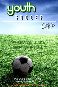create your own soccer poster in 5 minutes postermywall