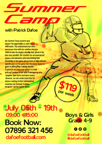 Soccer Summer Camp Flyer
