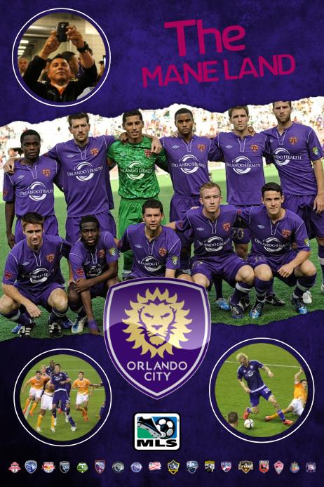 Soccer Team Poster