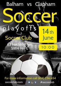 Soccer Team Schedule Poster