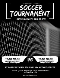 Soccer Tournament Flyer Video Design
