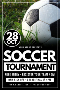 Soccer Tournament Poster