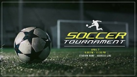 Soccer Tournaments Video Ad