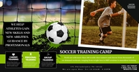 Soccer Training Image partagée Facebook template