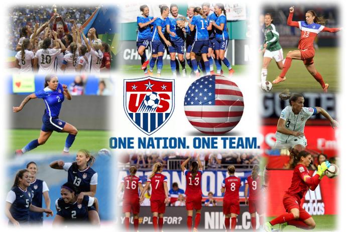 Soccer USA Womens National Team