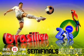 Soccer World Cup Poster Template