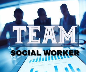 SOCIAL AND TEAM WORK BOARD TEMPLATE Stort rektangel