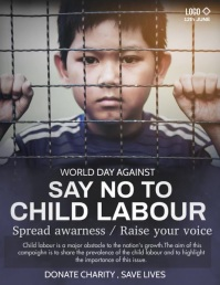 social issue,child labor,Human right Flyer (US Letter) template