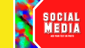 Social Media, Facebook, Header Title