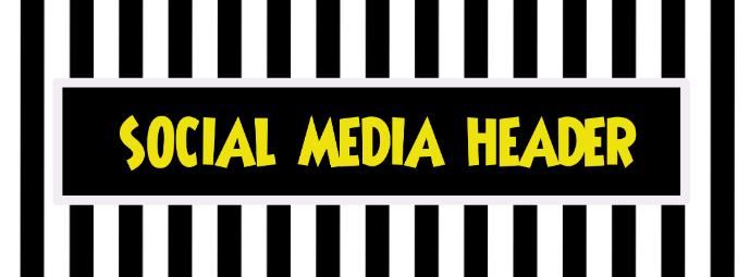 Social Media, Facebook, Instagram, header, Cover, title template