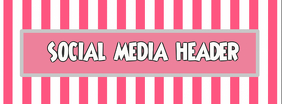 Social Media, Facebook, Instagram, header, Cover, title template