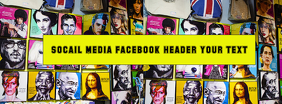 Social Media, Facebook, Instagram, header title
