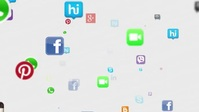 Social media and networking YouTube 缩略图 template