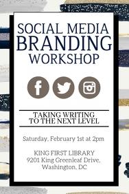 Social Media Branding Workshop Fyer