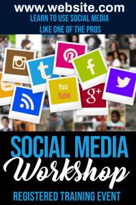 Social Media Iphosta template