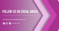 Social media flyer Gambar Bersama Facebook template