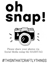 Social Media Hashtag Flyer