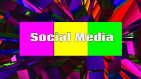 Social media header template