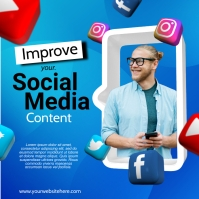 Social Media Manager Instagram Post template