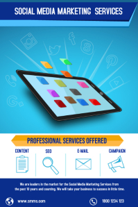 Professional Flyer design for Digital Marketing