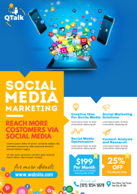 Social Media Marketing Flyer
