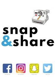 Social Media Party Prop Frame