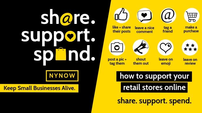 Social Media Support Template Vídeo de capa do Facebook (16:9)