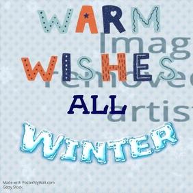 Social Media Winter Greetings