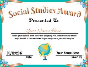 Social Studies Award