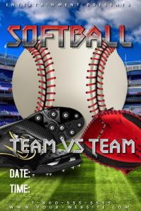 Softball Template