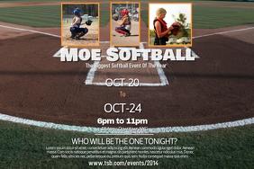 Softball Poster Template