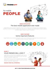 Software application flyer