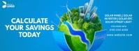 Solar Company Ad Facebook Cover Photo template