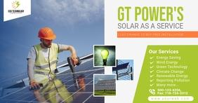 Solar Energy Facebook Shared Post TP template