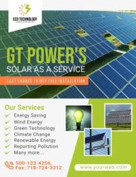 Solar Energy Video Template Folder (US Letter)