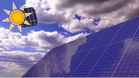 Solar panels sun energy eco friendly YouTube Duimnael template
