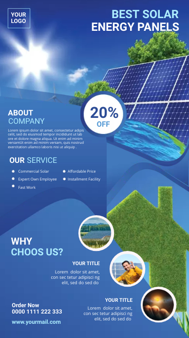 Solar Power Digital post template
