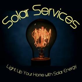 Solar Services Instagram Plasing template
