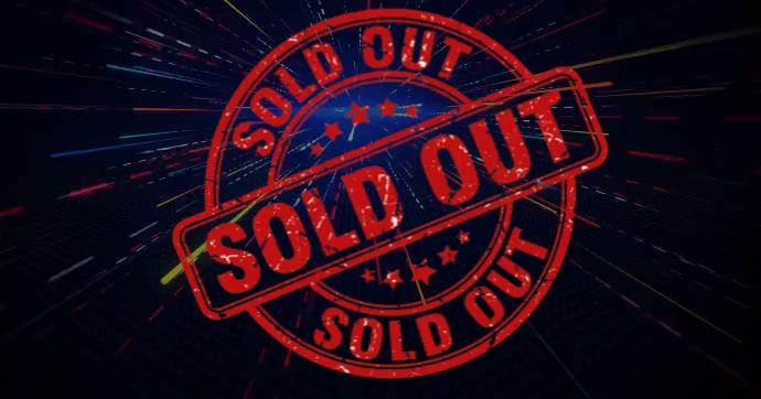 sold out video Imagen Compartida en Facebook template