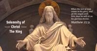 Solemnity of Christ The King Ikhava Yomcimbi WeFacebook template