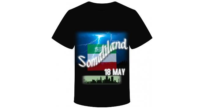 Somaliland Tshirt โฆษณา Facebook template